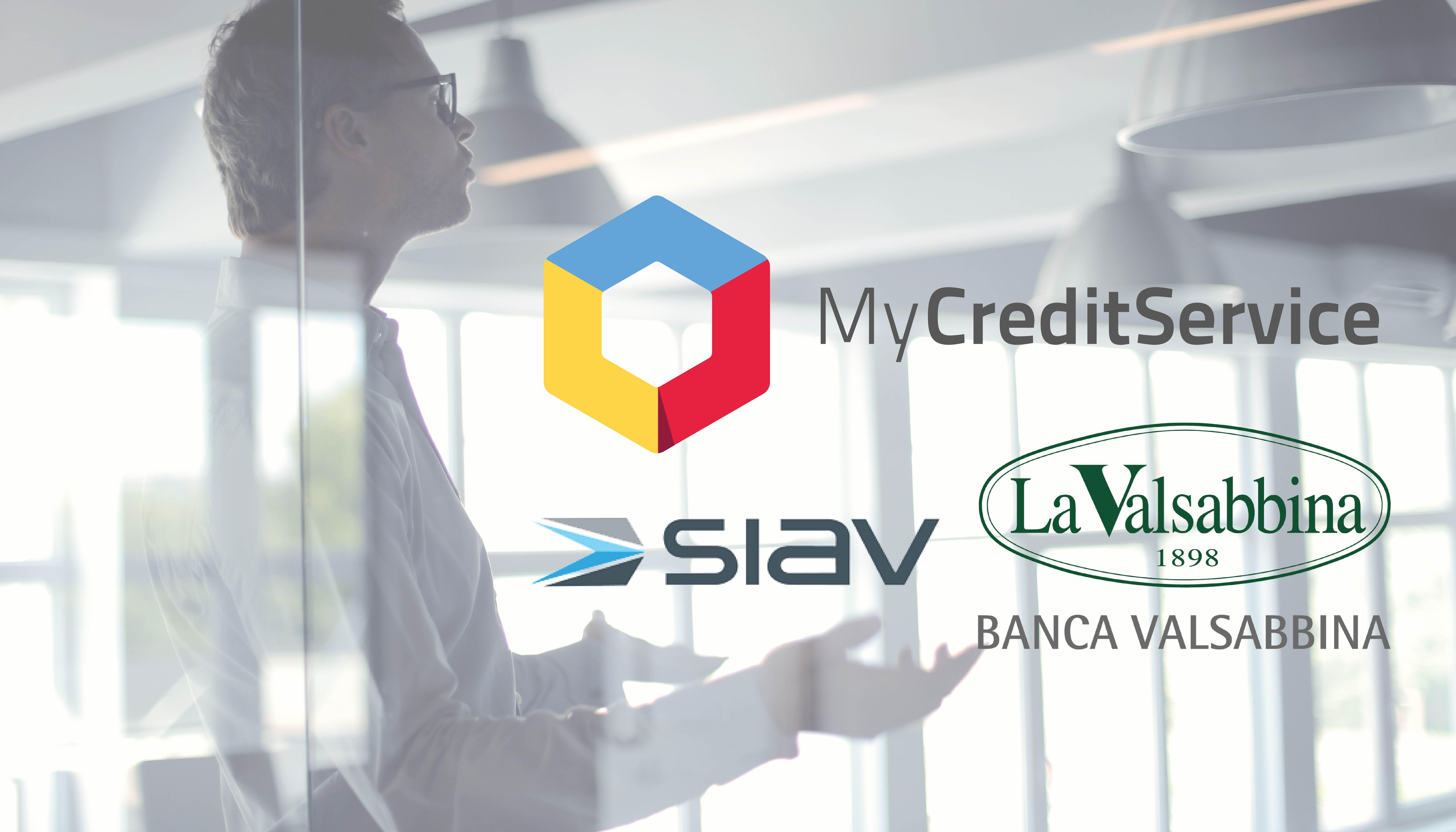 Collaborazione fra MyCreditServic, Siav e Valsabbina